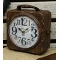 "Antique Double Sided Clock Case 10"" x  8"" x 4.5"""