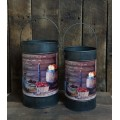"Fruit Of The Spirit Buckets (set of 2) 11.75"" x 7.5"" & 12.5"" x 8.5"""