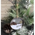 A Light In The Stable Ornament 4.75""