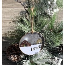"""A Light In The Stable Ornament 4.75"""""""