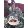 """Wintry Weather Ornament 4.75"""""""