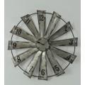 """Windmill Clock 22"""""""