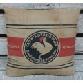 "Rooster Pillow 12"" x 12"""