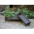 Galvanized Troughs (Set of 2)