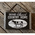 "Country Home Hanger 8.75"" x 9.5"""