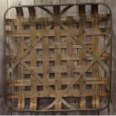 "Tobacco Basket Replica Large 30"" x 30"""