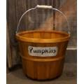Orange Pumpkin Basket