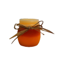 Candy Corn LED Keeping Jar Candle with Timer 3.5""