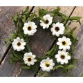 Daisy Candle Ring 4.5""