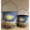 Harvest Moon Buckets (set of 2)