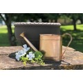 """Copper Hammered Metal Watering Can 7""""x15.5""""x3.75"""""""