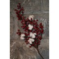 Red Berry Cotton Pick 24""