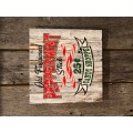 """Old Fashion Peppermint Sign 12"""" X 12"""""""